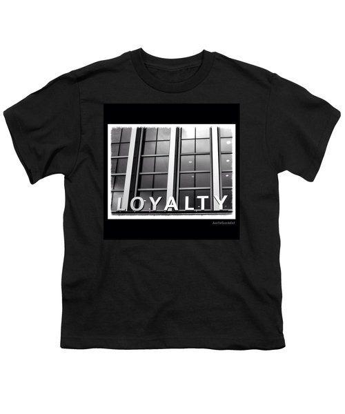 Yes, #loyalty. That Is Why I Own A Dog Youth T-Shirt