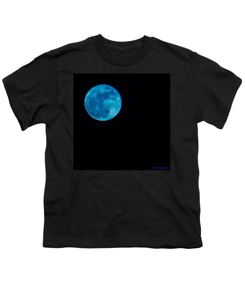 Yes, Once In A #bluemoon! Youth T-Shirt