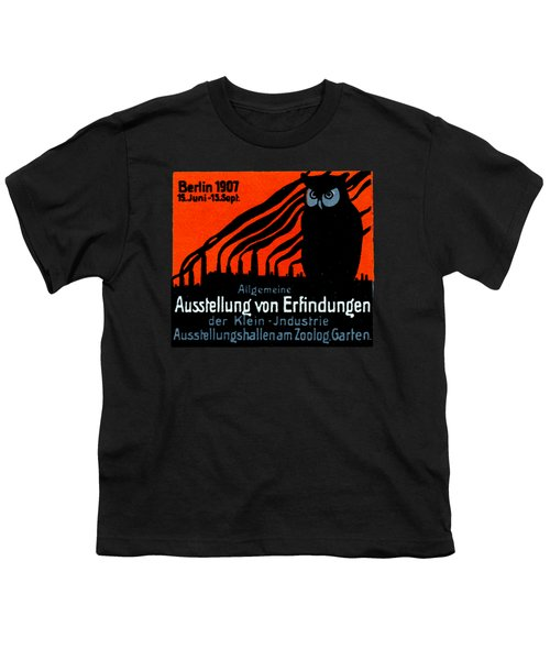 1907 Berlin Exposition Poster Youth T-Shirt