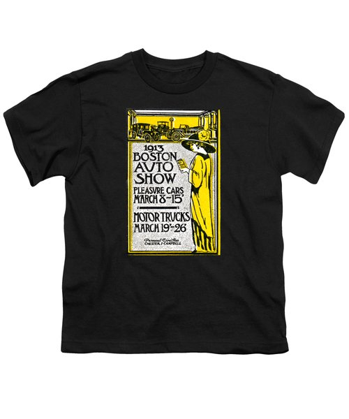 1913 Boston Automotive Show Youth T-Shirt