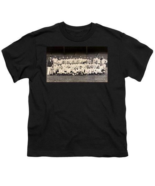 1926 Yankees Team Photo Youth T-Shirt