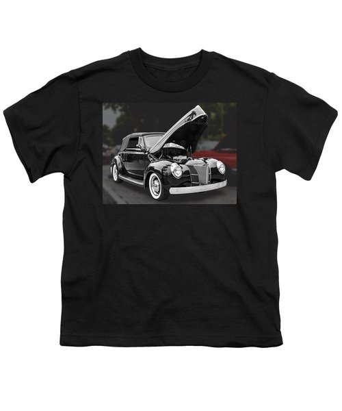 1940 Ford Deluxe Automobile Youth T-Shirt