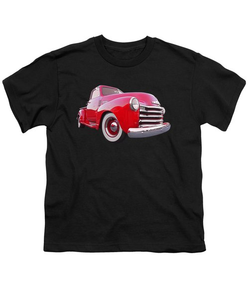 1950 Chevy Pick Up At Sunset Youth T-Shirt