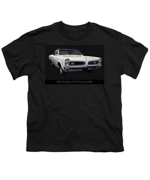 1966 Pontiac Gto Convertible Youth T-Shirt