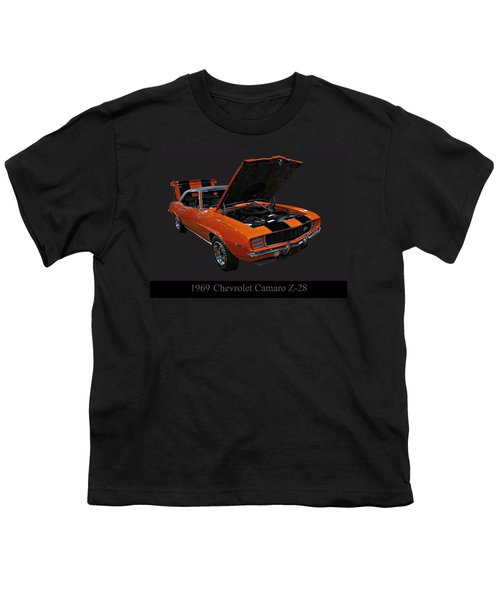 1969 Chevy Camaro Z28 Youth T-Shirt
