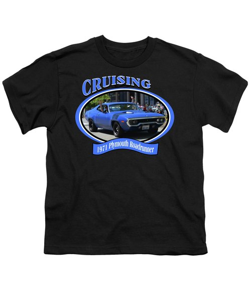 1971 Plymouth Roadrunner Hedman Youth T-Shirt