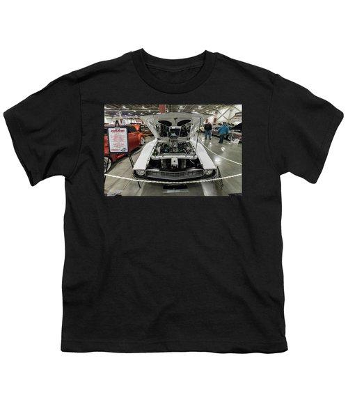 Youth T-Shirt featuring the photograph 1972 Javelin Sst 2 by Randy Scherkenbach