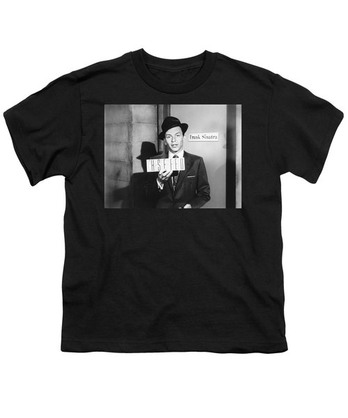Frank Sinatra Youth T-Shirt by Underwood Archives