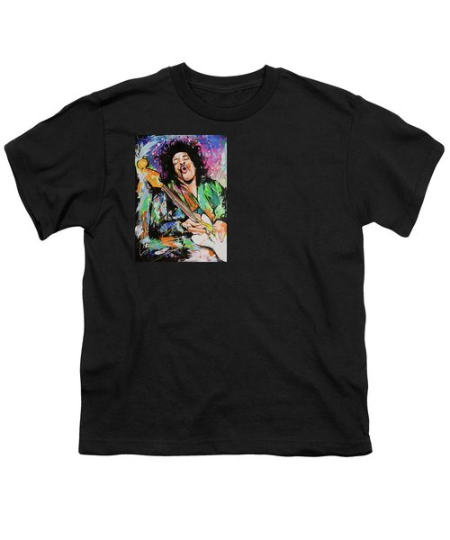 Jimi Hendrix Youth T-Shirt by Richard Day