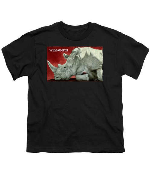 Wine-oceros Youth T-Shirt