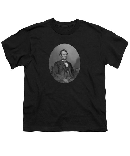 Abraham Lincoln Youth T-Shirt by War Is Hell Store