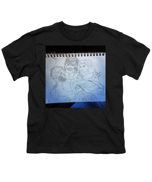 Adam Andeve The Creation Story Youth T-Shirt
