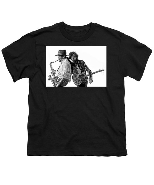 Bruce Springsteen Clarence Clemons Collection Youth T-Shirt