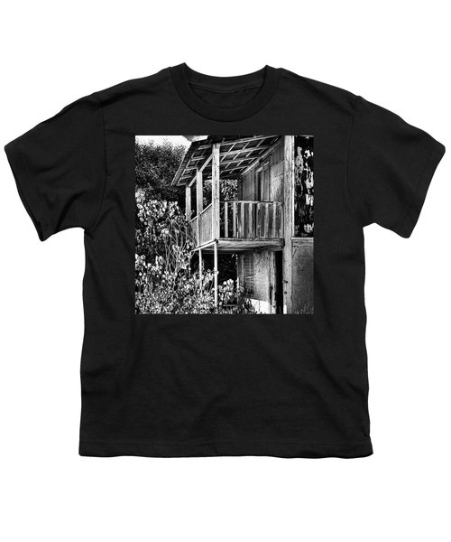 Abandoned, Kalamaki, Zakynthos Youth T-Shirt by John Edwards