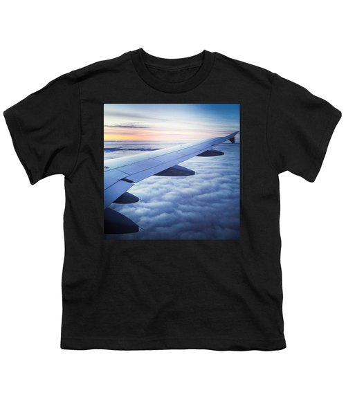 Above The Clouds 01 Youth T-Shirt by Matthias Hauser