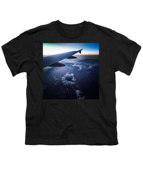 Above The Clouds 02 Heart Cloud Youth T-Shirt