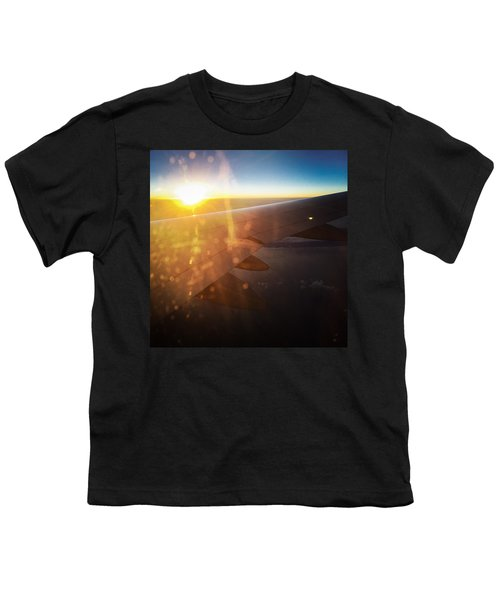 Above The Clouds 03 Warm Sunlight Youth T-Shirt
