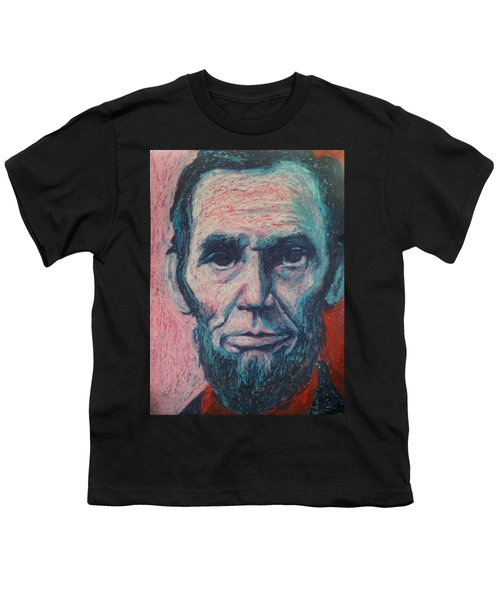 Abraham Lincoln Youth T-Shirt by Regina WARRINER