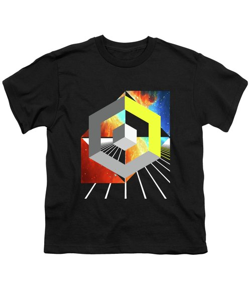 Abstract Space 4 Youth T-Shirt by Russell K