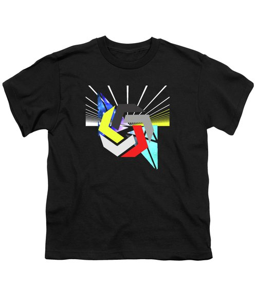 Abstract Space 6 Youth T-Shirt by Russell K
