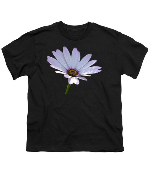African Daisy Youth T-Shirt by Scott Carruthers