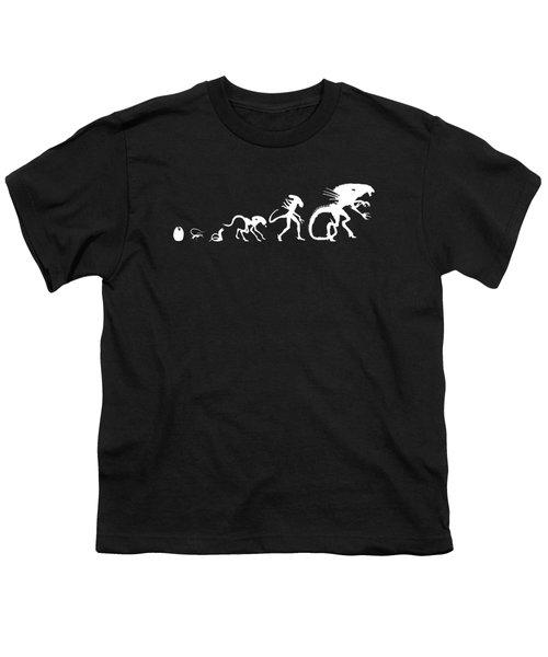 Alien Evolution Youth T-Shirt