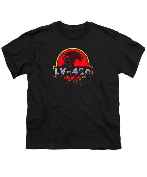 Aliens Planet Lv426 Youth T-Shirt