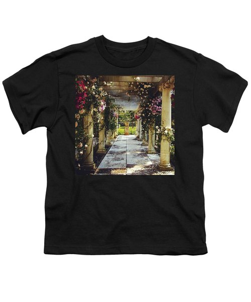 A Gilded Rose Garden  Youth T-Shirt