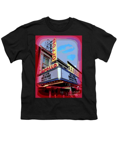 Amateur Night At The Apollo Youth T-Shirt by Ed Weidman