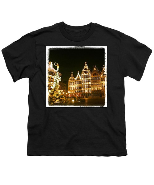 Amazing Romantic Antwerp Youth T-Shirt by Chantal Mantovani