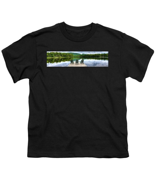Youth T-Shirt featuring the photograph An Adirondack Panorama by David Patterson