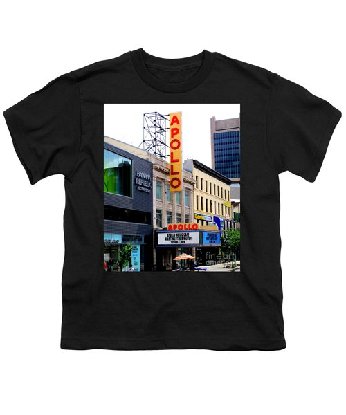 Apollo Theater Youth T-Shirt by Randall Weidner