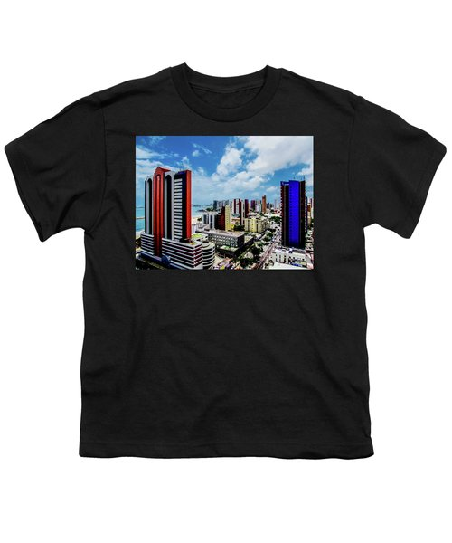 Architecture And Building Youth T-Shirt by Cesar Vieira