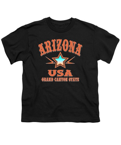 Arizona Grand Canyon State Design Youth T-Shirt
