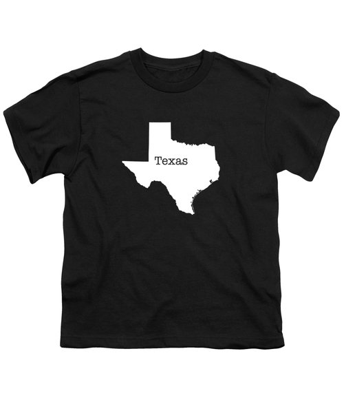 Texas State Youth T-Shirt by Bruce Stanfield