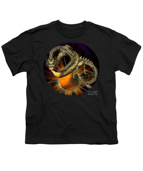 Dragons Are In Space # 2 Youth T-Shirt