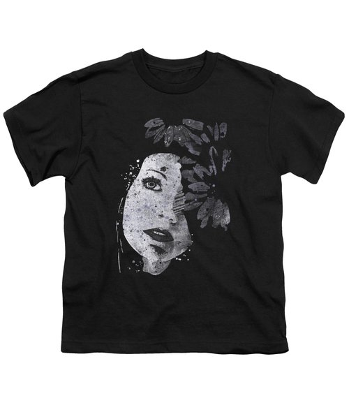 Lack Of Interest - Silver Youth T-Shirt