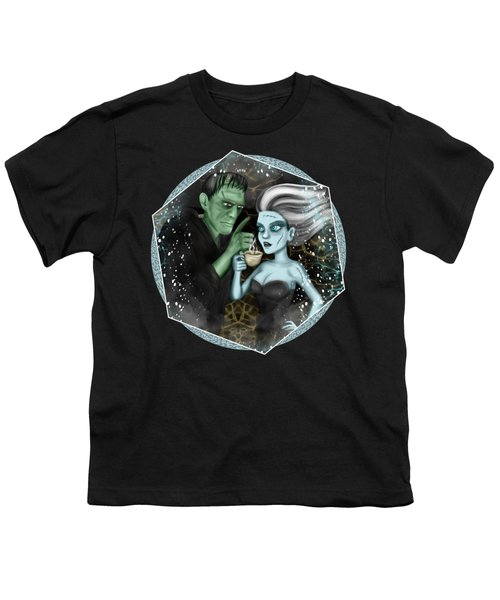 Frankenstien Fantasy Art Youth T-Shirt