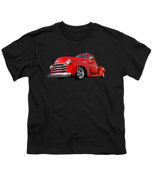 1952 Chevrolet Truck At The Diner Youth T-Shirt by Gill Billington