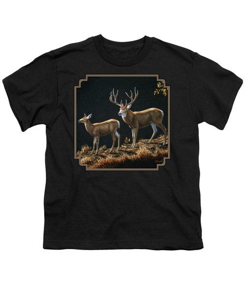 Mule Deer Ridge Youth T-Shirt