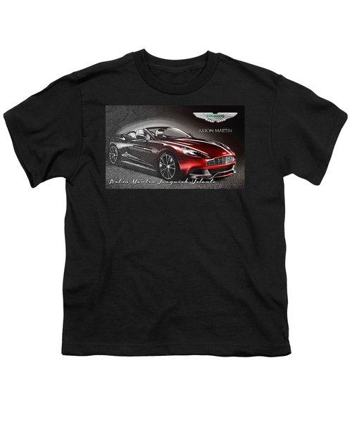 Aston Martin Vanquish Volante  Youth T-Shirt