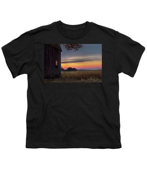 Youth T-Shirt featuring the photograph Autumn Glow by Bill Wakeley