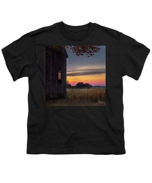 Youth T-Shirt featuring the photograph Autumn Glow Square by Bill Wakeley