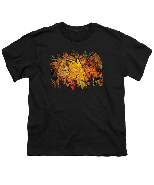 Autumn Leaves Of Beaver Creek Youth T-Shirt