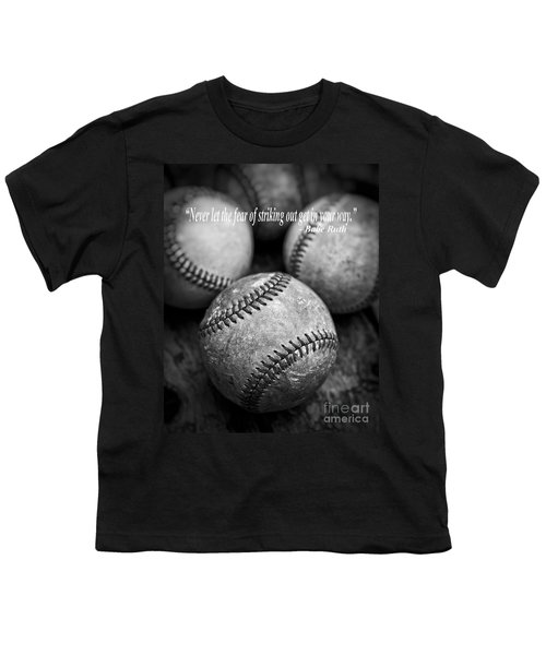 Babe Ruth Quote Youth T-Shirt