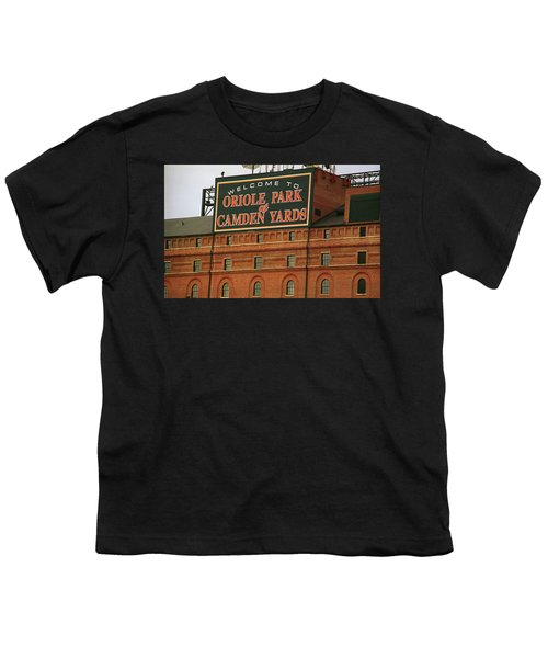 Baltimore Orioles Park At Camden Yards Youth T-Shirt