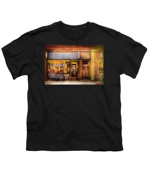 Barber - Towne Barber Shop Youth T-Shirt