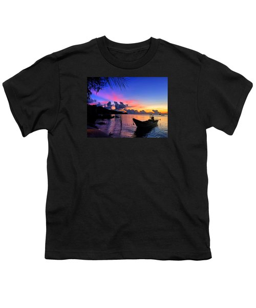 Beach Sunset Youth T-Shirt