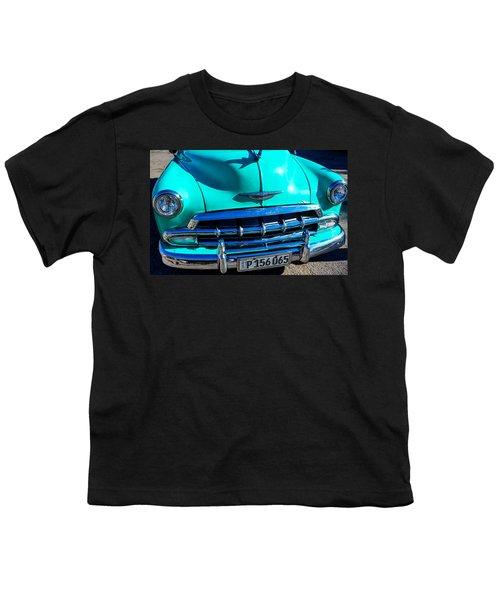 Beautiful Car In Cuba Youth T-Shirt