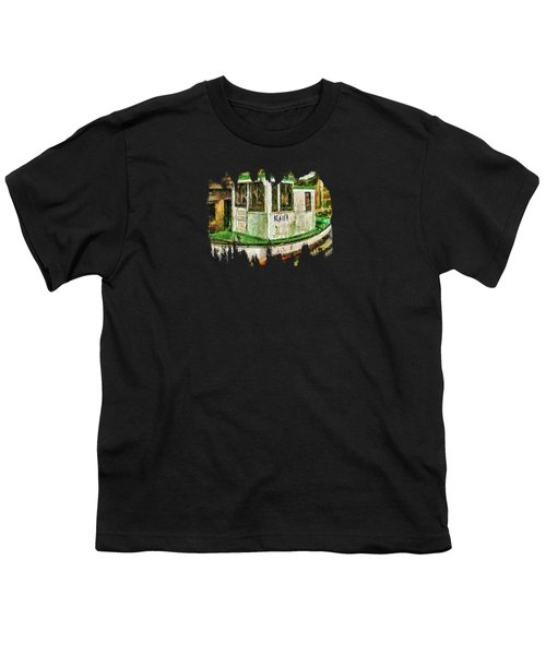 Beaver The Old Fishing Boat Youth T-Shirt by Thom Zehrfeld